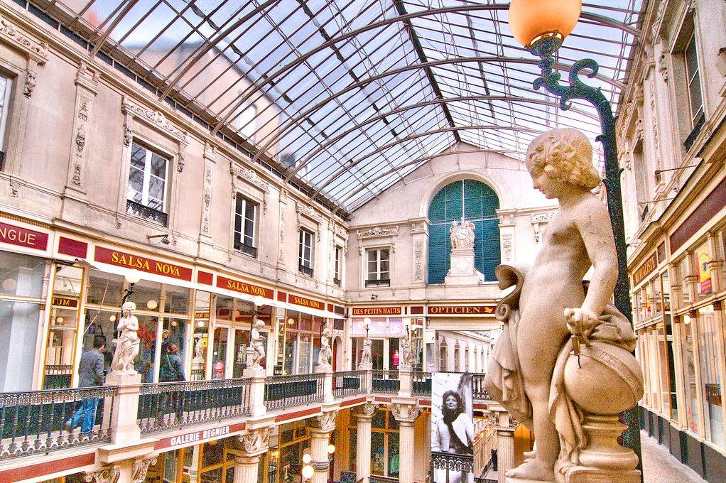 Passage Pommeraye em Nantes