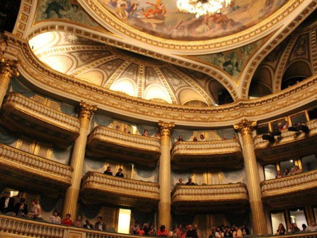 Teto do Grand Theatre em Bordéus