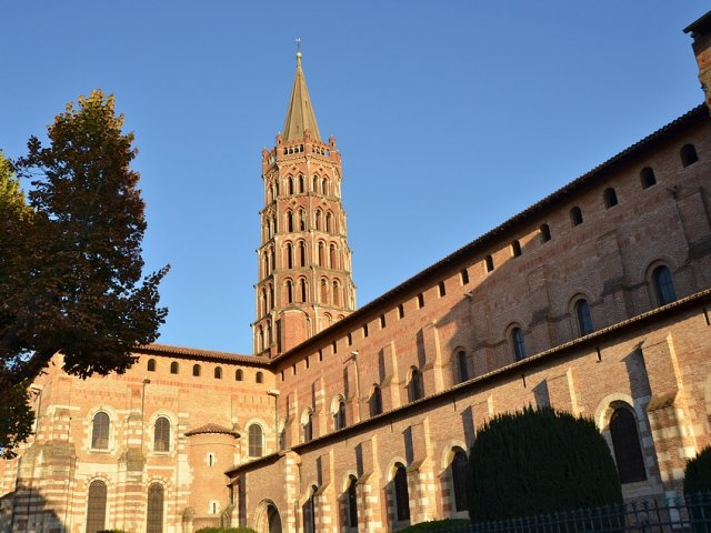 Basílica de Saint Sernin em Toulouse