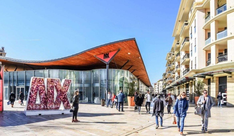 Shoppings em Aix