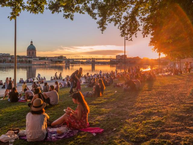 Verão em Toulouse