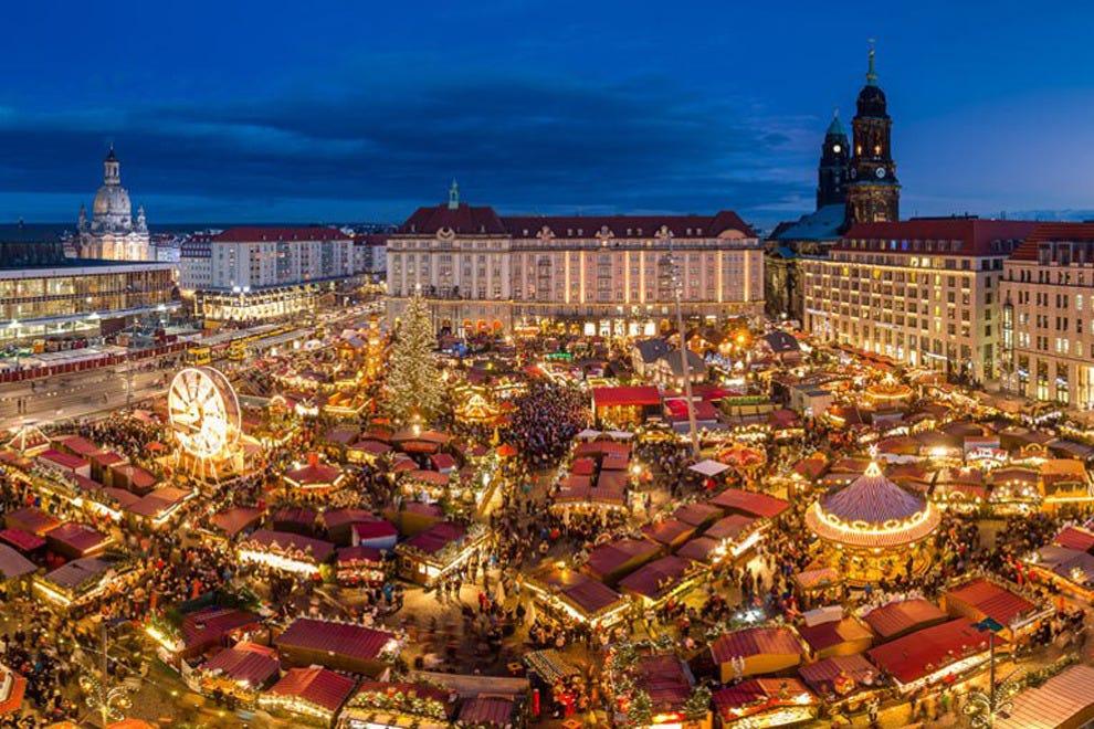 Mercados de Natal em Lyon
