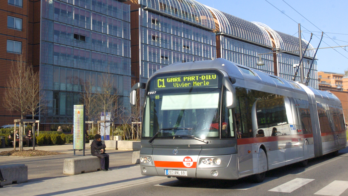 Onibus em Lyon