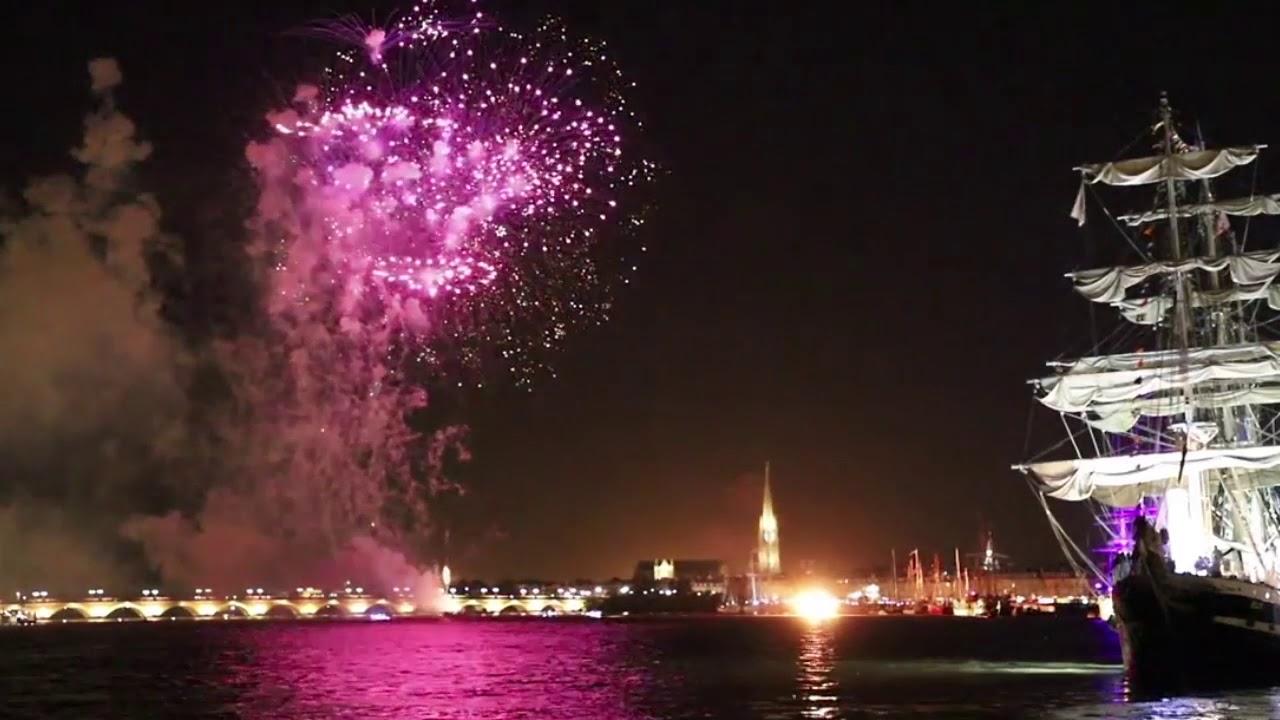 Fogos de artifício em Bordéus