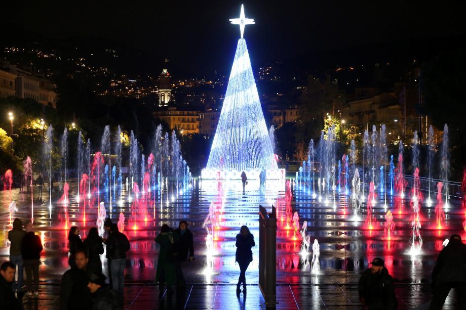 Luzes de Natal em Nice