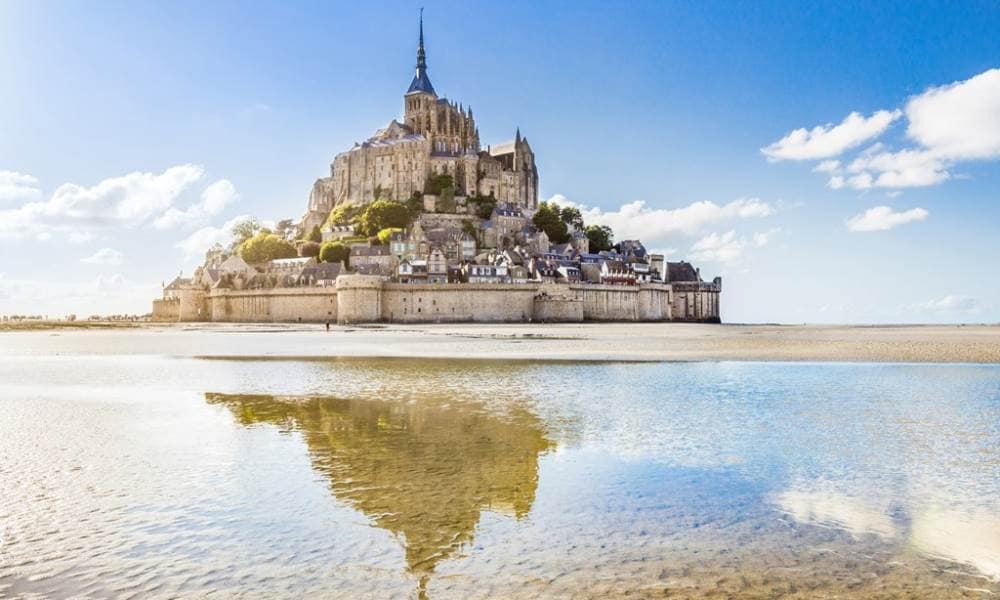 Mont Saint Michel na França
