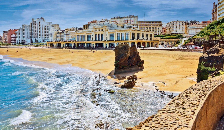 Mapa turístico de Biarritz
