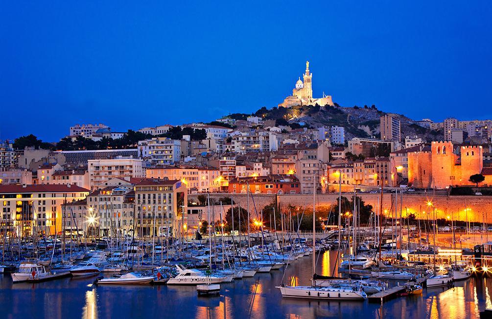 Vista de Marselha
