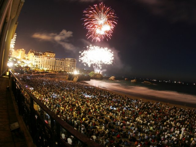 Biarritz na virada do ano