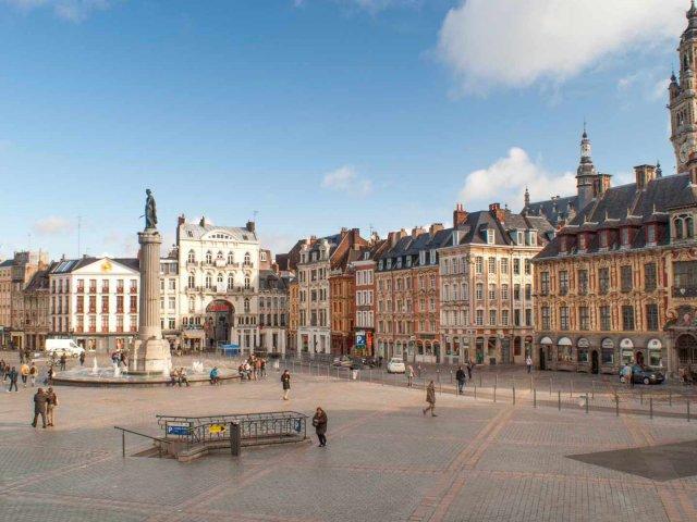 Clima e a temperatura em Lille