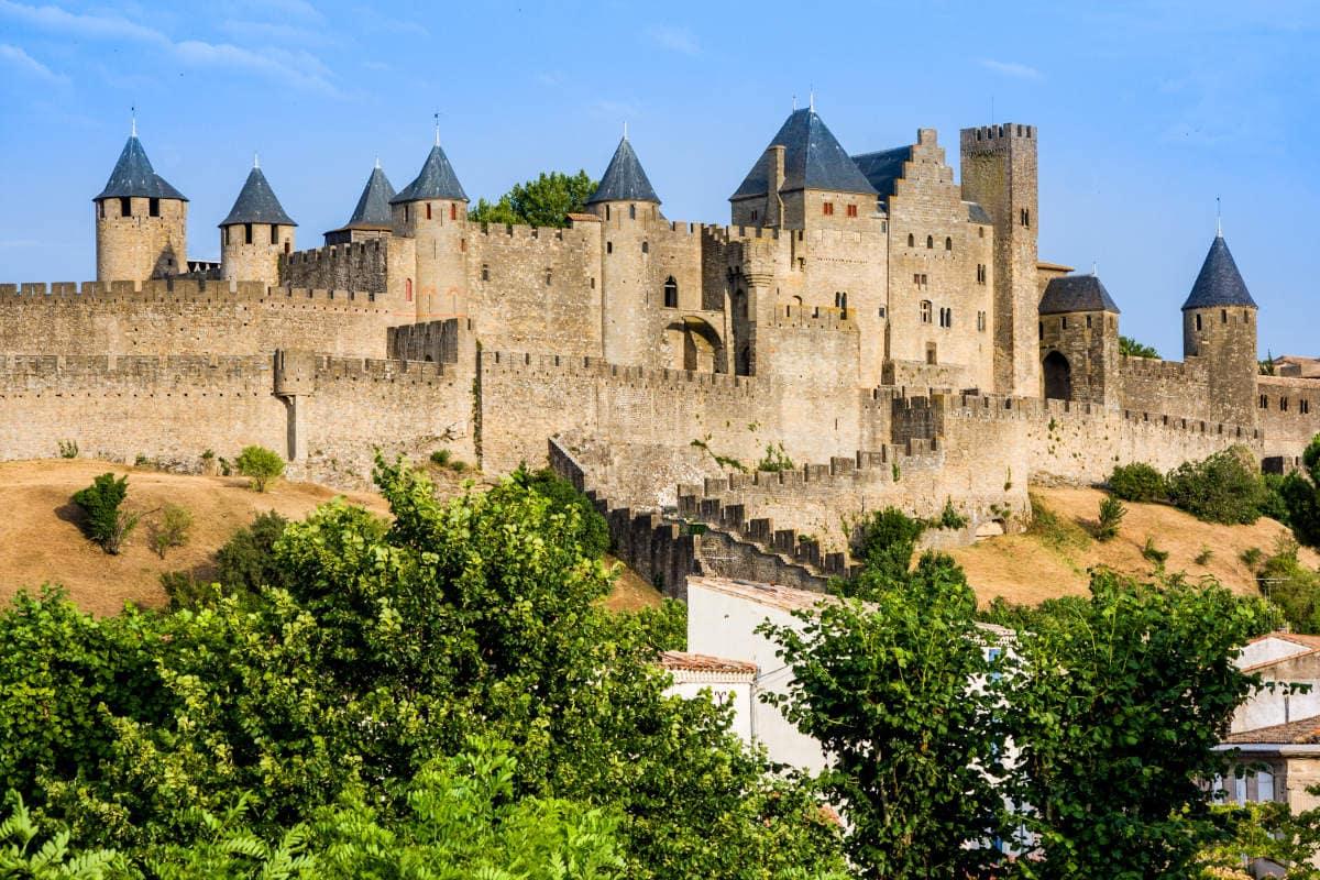 Vista de Carcassonne
