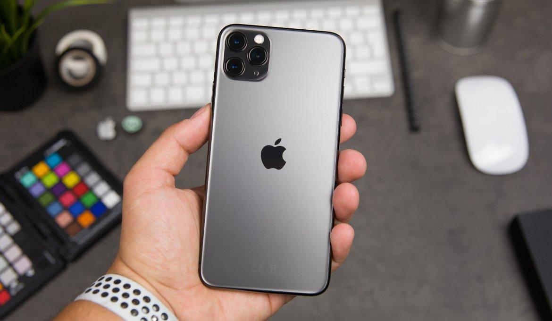 iPhone 11 Pro cinza