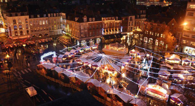 Mercado de Natal em Lille